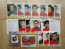 PANINI WM 1998 France 98, team Spain/SPAGNA, N. 228-245, ORIGINALE, NO pop-up!