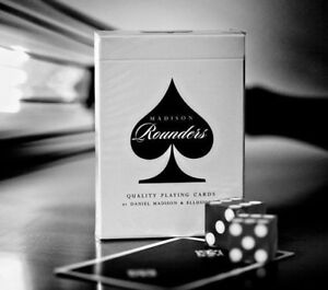 Bicycle-Ellusionist-Madison-Rounders-Black-US-Playing-Cards-Magic-Poker-NEW
