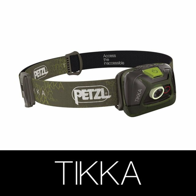 Petzl Tikka Headlamp - Green, One Size