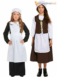 FANCY DRESS WOMEN/'S VICTORIAN MAID/'S OUTFIT SIZE 10-12