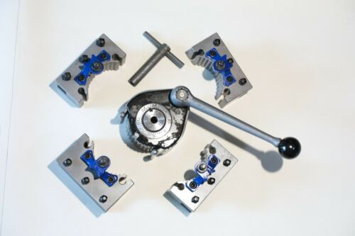 """E5 40 Position Quick Change Tool Post Kit For 200--400mm Swing Lathe 8/"""" to 16/"""""""