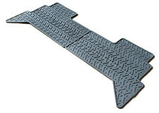 Range Rover Classic Rubber Mats - Rear Pairs Moulded