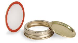 10pk-Mason-Jar-Lids-Regular-Mouth-Leak-Proof-and-Canning-Storage-Gold-10-Pack