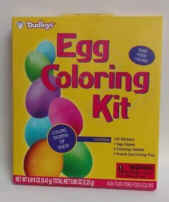 Dudley\'s Easter Egg Coloring Kit - Colors Dozens of Eggs 71653174547 | eBay