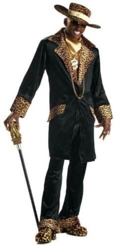 Mac Daddy Pimp Gangster Halloween Costume Men