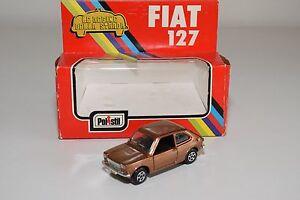 POLISTIL-CE-48-CE-48-CE48-FIAT-127-METALLIC-BROWN-MINT-BOXED