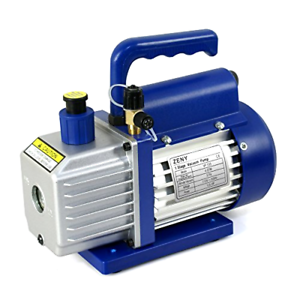 Details about ZENY 4CFM 1/3HP Electric Vacuum Pump Refrigerant R410a R134a  HVAC Deep Vane Air
