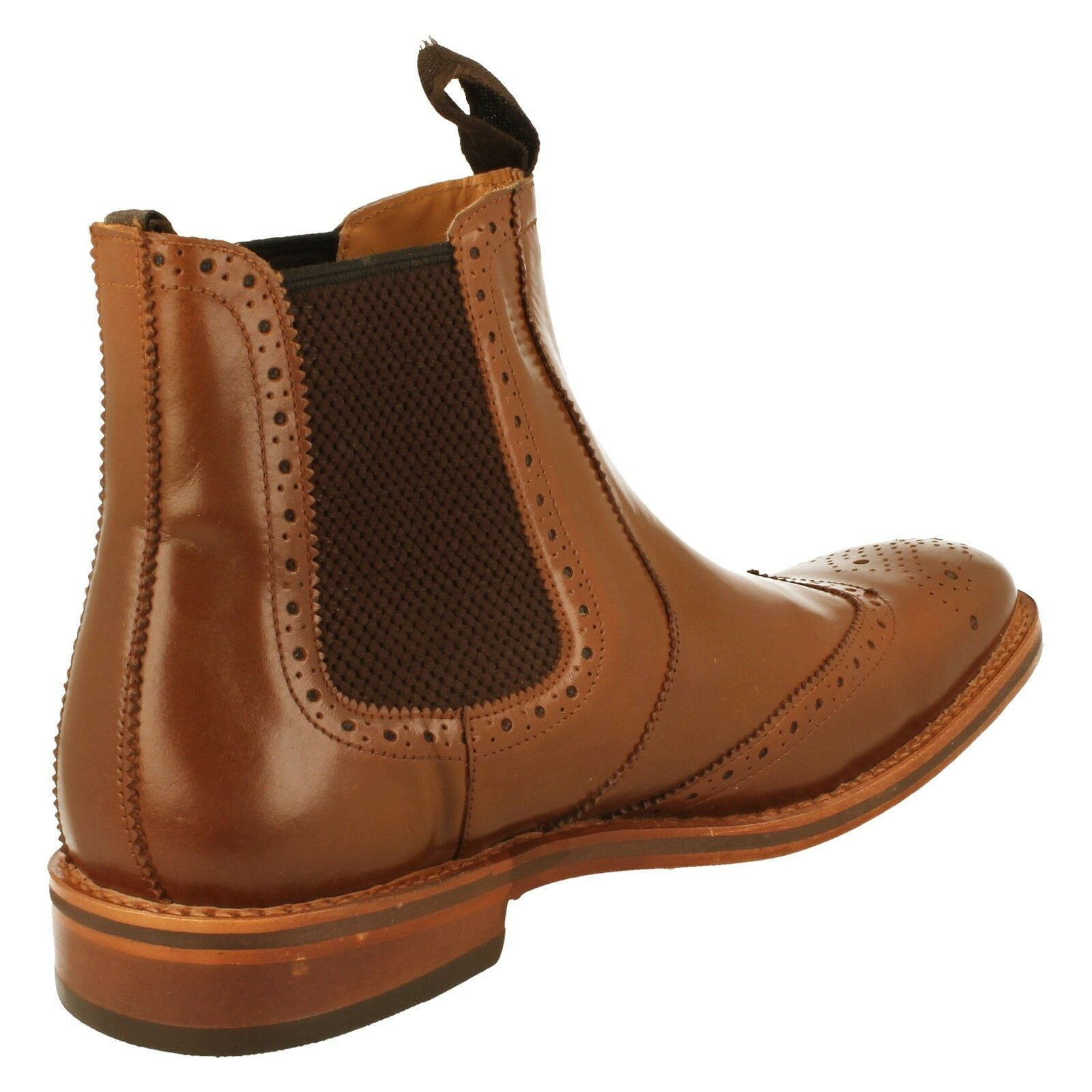 Men's Catesby Leather Ankle Boots Boots Boots - MCATESCW158 ee3f78