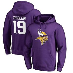 Men s Minnesota Vikings Adam Thielen NFL Pro Line Pullover Hoodie ... 531dfb420
