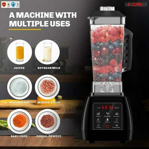Details about  /5Core PERFORMANCE PRO 4 SPEED PREMIUM Blender 72OZ Smoothie CRUSH POWERFUL 2000W