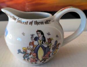 Snow White Cardew Design England 2012 porcelain Creamer