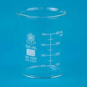 Low-Form-Glass-Beaker-500mL-6-pk