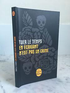 Kill El Temps En de la Escritura Es No Un Crimen Cuaderno De Note Blanco