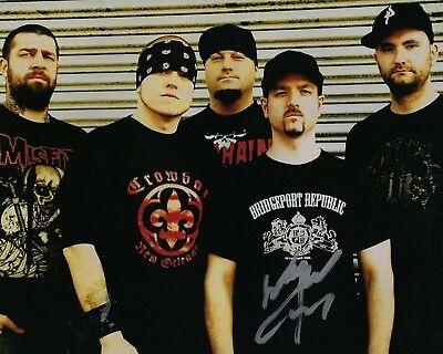 Signed Autographed 8x10 Photo W2 Coa Numerous In Variety Wayne Lozinak Beautiful Gfa Hatebreed Guitarist