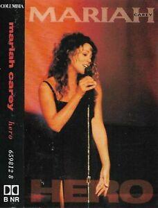 Mariah Carey Hero cassette single Electronic, Pop,Ballad inc. live version