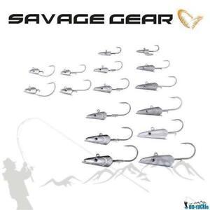Savage Gear Sandeel Jig Head Jigkopf 7 - 150g Bleikopf Sandaal Norwegen Köder