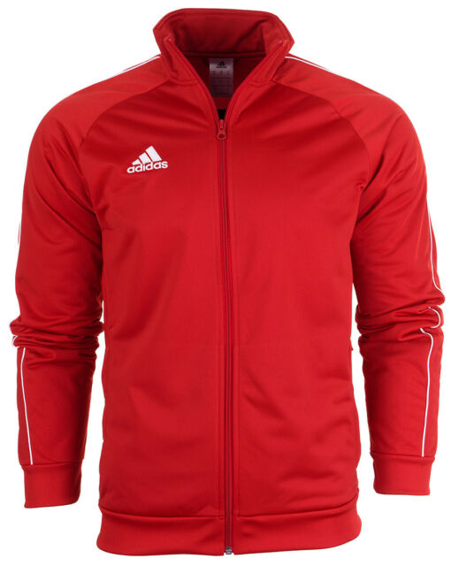 0bd36551e49a adidas Core 18 Polyester Jacket Red White 2xl for sale online