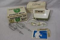 Vintage Hamilton Beach Scovill Portable Mixer Model 87w White