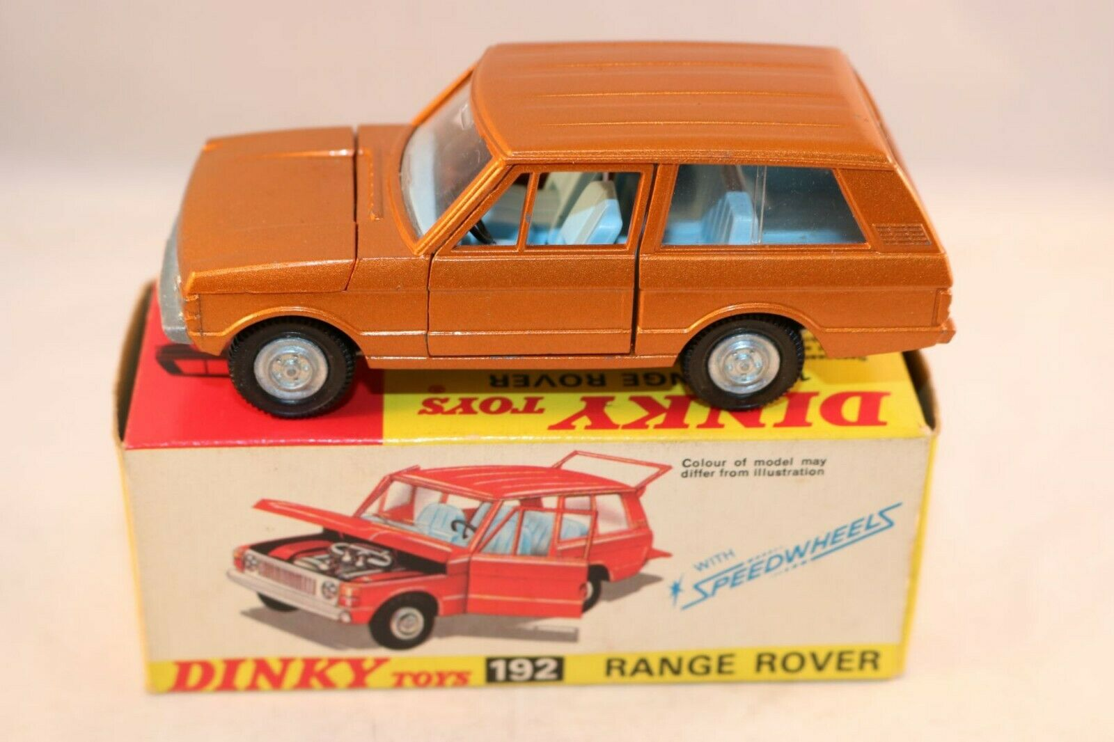 Dinky giocattoli 192 Range Rover very near mint in very near mint scatola tutti original