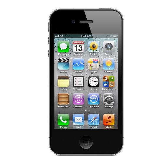 APPLE IPHONE 4S 16GB - SCHWARZ - OHNE SIMLOCK - OHNE VERTRAG - SMARTPHONE
