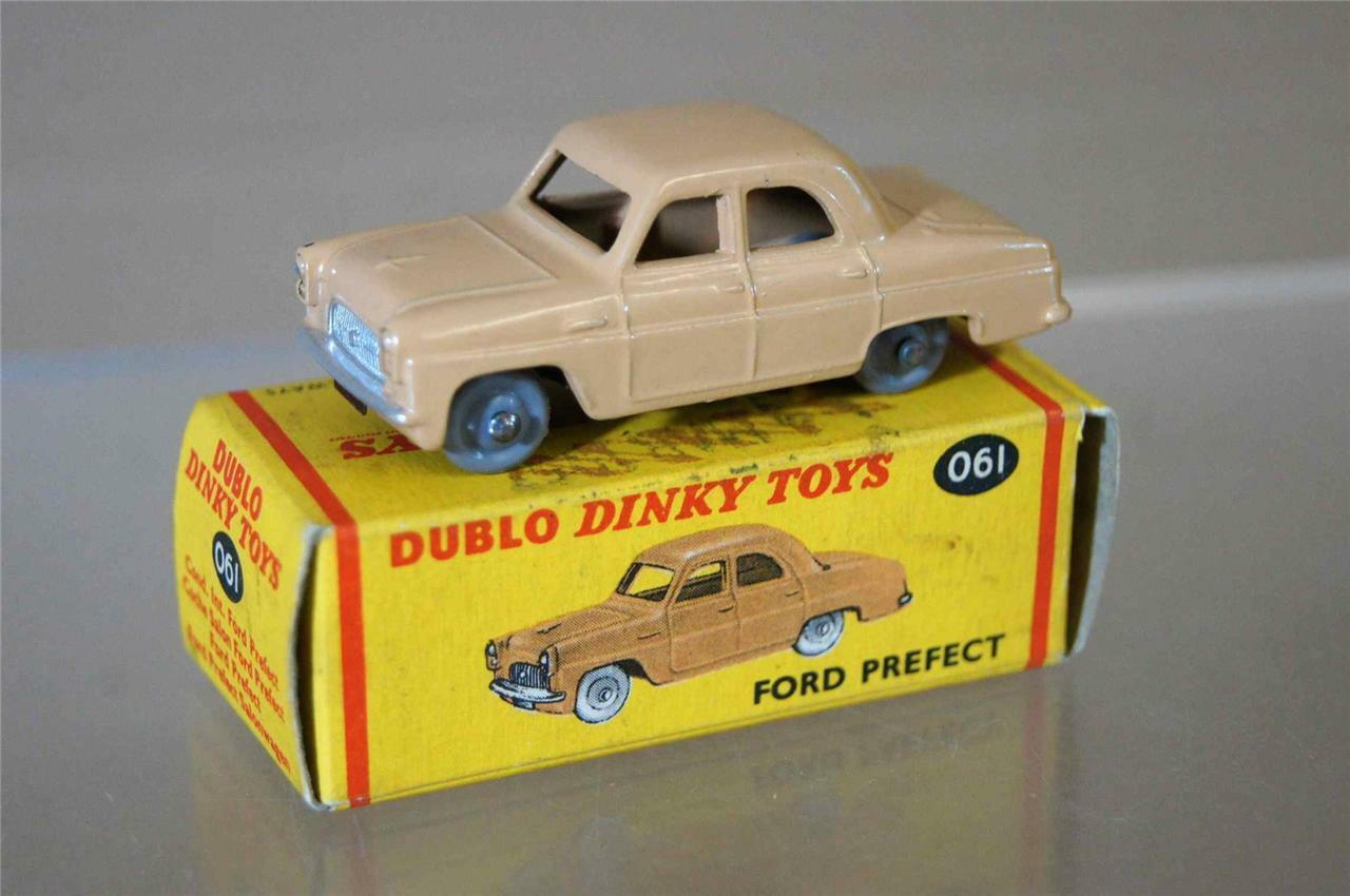 Dinky Dublo 061 Ford Prefect Sedan Maßstab Oo Mint Mw
