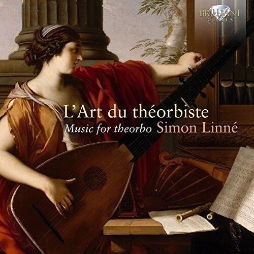 L'Art Du Theorbiste Music For Theorbo - Simon Linne (2017, CD NEUF)