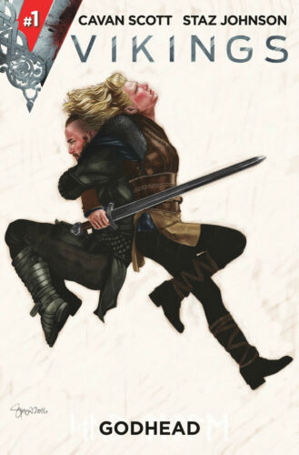 """VIKINGS #1 AOD COLLECTABLES FRANKIE GOES TO HOLLYWOOD /""""RELAX/"""" COLOUR MYERS COVER"""
