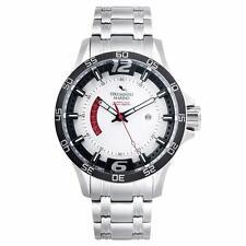 Strumento Marino SM116MB/SS/BN Men's Hurricane White Dial Steel Bracelet Watch