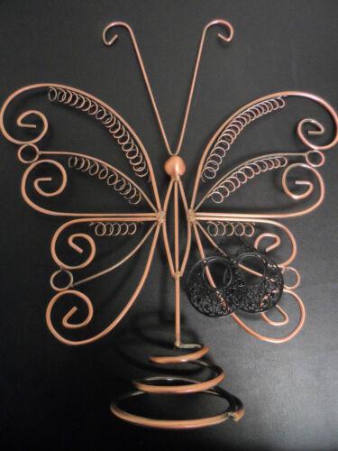 exposant Expositor de pendientes Mariposa 35 x 32cm,herausragende outstanding