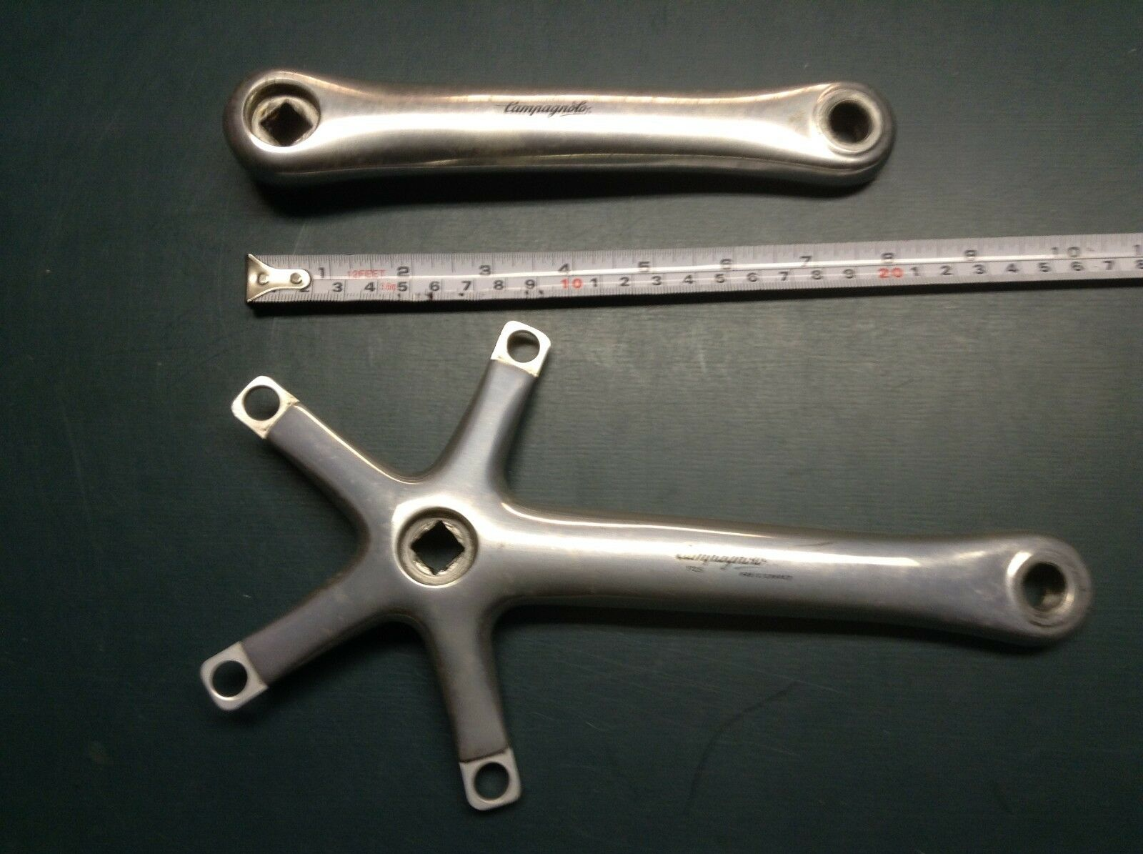 Campagnolo Record Crank Arm & Spider 172.5mm  Classic Italian Road  factory direct sales