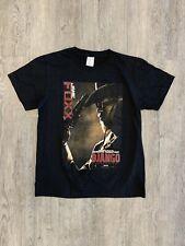 Django V1 movie poster Quentin Tarantino T SHIRT WHITE YELLOW all sizes S-5XL