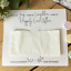 Wedding-Tissue-Holder-Personalised-Happy-Tears-favour-Customized-Tears-of-Joy thumbnail 3