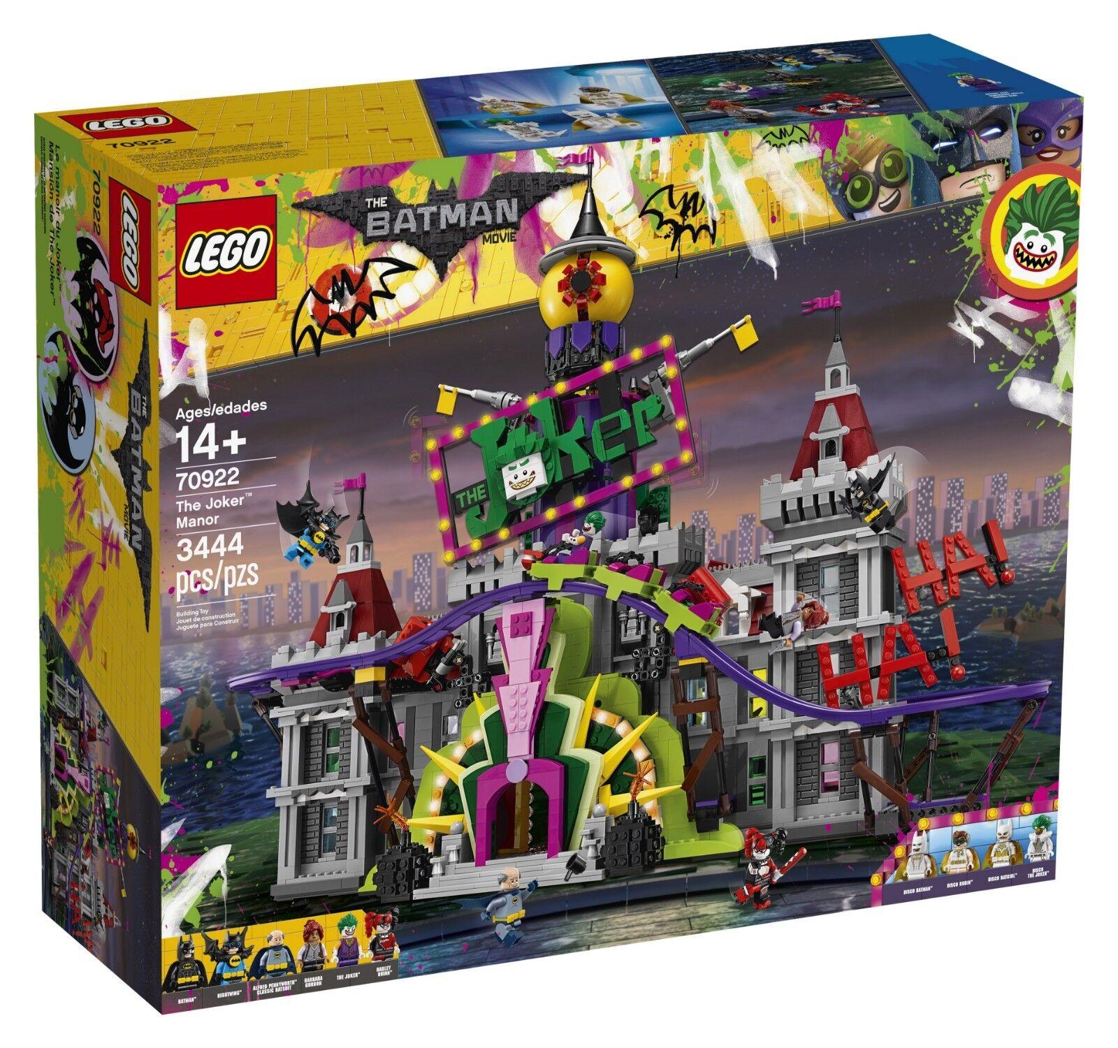 The LEGO Batman Movie The Joker Manor Set 70922