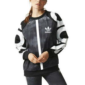 Adidas-Women-039-s-Mystic-Moon-Sweater-Black-Rita-Ora-AA3853-NEW