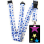 High-quality-ID-badge-holder-RAINBOW-STARS-amp-Secure-Lanyard-neck-strap-soft thumbnail 49