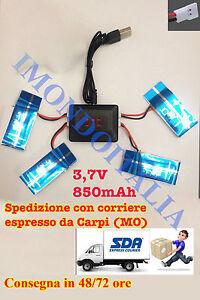 3-7v-850mah-x4-Batterie-potenziate-Drone-Syma-x5C-X5SC-X5SW-ECC-Upgrade-usb