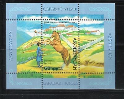 Tema: Fauna Año: 2006 Caballos De Karabagh. Azerbaiyan
