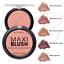 thumbnail 1 - RIMMEL Maxi Blush Face Blusher Compact Pressed Powder 9g *CHOOSE SHADE* NEW