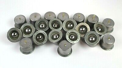 """Lot Of 25 Omtec Retainer Rings For PBT-1 Metal Pneumatic Pop Up 1"""" Ball Bearing"""