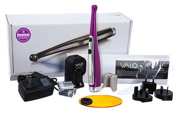 Valo Cordless Fuchsia Kit Dental Led Curing Light By