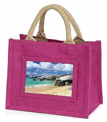 Marchio Popolare Tropical Seychelles Beach Bambine Small Rosa Shopping Bag Di Natale, W-7bmp-mostra Il Titolo Originale Promuovi La Produzione Di Fluidi Corporei E Saliva