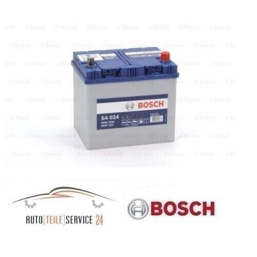 Bosch S4 024 60Ah 540A 12V Autobatterie Starterbatterie Akku Honda Mazda Nissan