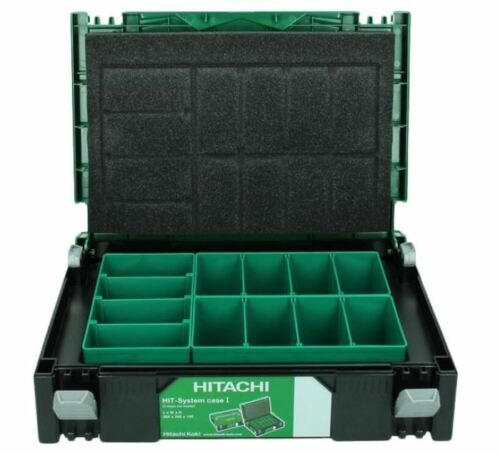 Hitachi 402538 HSC I HIT CASE taille 1 Hitcase-Boîte de rangement incl 3 Boîtes