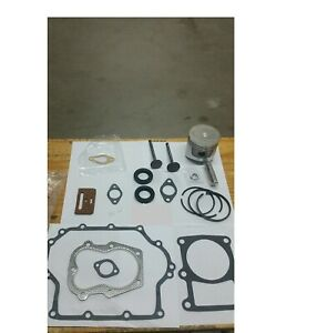 Club-Car-Gas-Golf-Cart-1986-1991-341cc-Engine-Piston-Gasket-Kit-with-valves