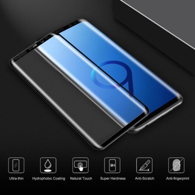3D Curved Pellicola Vetro Temperato Per Samsung Galaxy Note 9 / Note 8