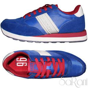 Caricamento dell immagine in corso Scarpe-Uomo-Atlanta-Sneakers-Casual- Sportive-Blu-Basse- 1217ce4cdb7