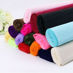 Party-Supplies-Florist-Flower-Wrapping-Crepe-Paper-Gift-Wrap-Streamer-Roll