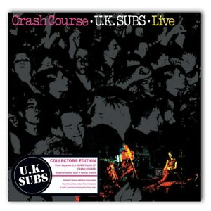 Crash Course Live Uk Subs 10 Quot Album Coloured Vinyl