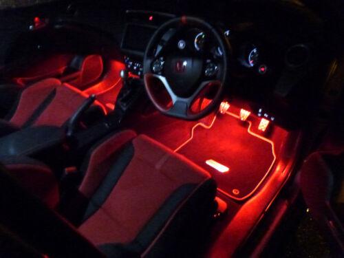 Mugen Honda Civic EP3 FK8 Type R Interior Footwell LED Lighting Kits FK2 FN2