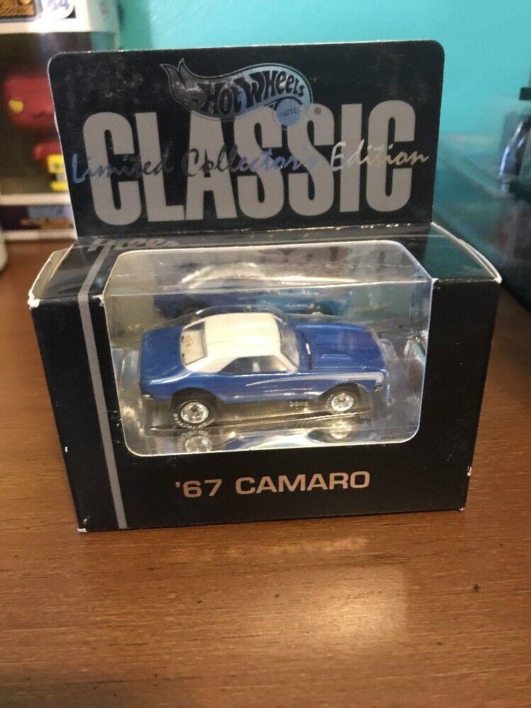 1996 Hot Wheels - Hill's Store - '67 Camaro bluee w  White Roof, Rrgyt,